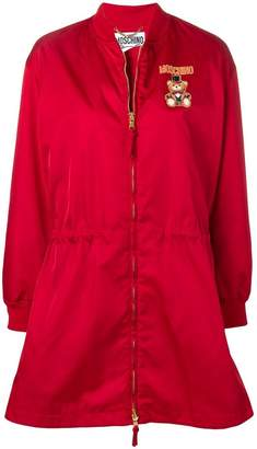 Moschino teddy circus zipped raincoat