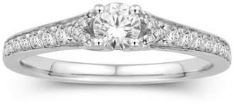 MODERN BRIDE 5/8 CT. T.W. 14K White Gold Diamond Ring