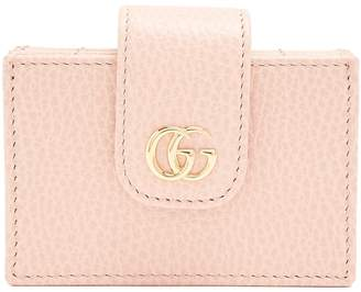 Gucci GG Marmont expandable leather cardholder