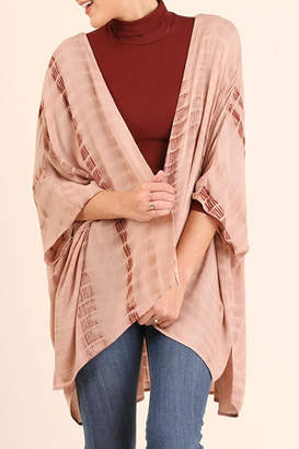 Umgee USA Tie Dye Kimono $45 thestylecure.com