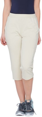 Denim & Co. Active French Terry Cargo Capri Pants