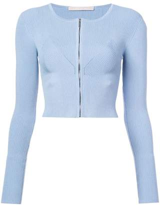Jason Wu Collection zipped cropped cardigan