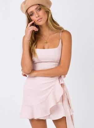 Cottage Hill Mini Dress Blush