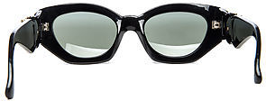 Vintage Sunglasses Replay The Hampton Sunglasses in Black