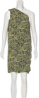 Diane von Furstenberg Liluye Silk Printed Mini Dress