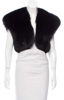 Pologeorgis Fox Fur Vest