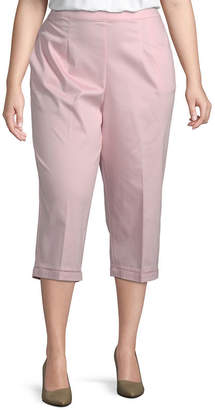 Alfred Dunner Society Page Capri with Faggotting - Plus