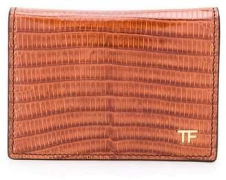 Tom Ford lizard-effect cardholder
