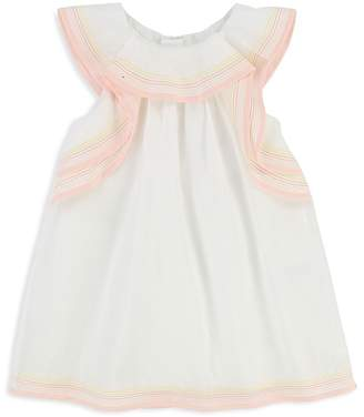 Chloé Girls' Ruffled Sleeveless Dress - Baby