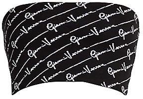 Versace Women's Gianni Signature Knit Bandeau Top