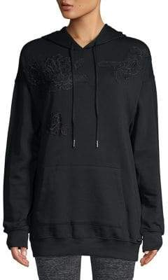 Betsey Johnson Lace Hooded Tunic