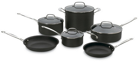 10-Pc Chef's Classic Cookware Set