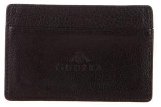 Ghurka Leather Logo Cardholder