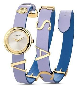 Versace V-Flare Violet/Blue Watch, 28mm