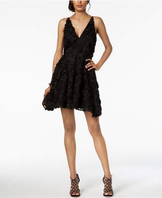 Xscape Evenings Lace Appliqué Fit & Flare Gown