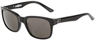 Carpark Sunglasses. Shiny Black