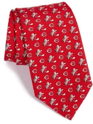 Vineyard Vines 'Cincinnati Reds - MLB' Print Silk Tie
