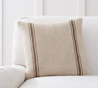 Pottery Barn Pieced Grainsack Stripe Pillow Cover