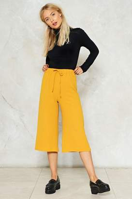 Nasty Gal Shut It Down Culotte Pants