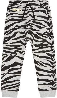 Kenzo Tiger Print Sweatpants