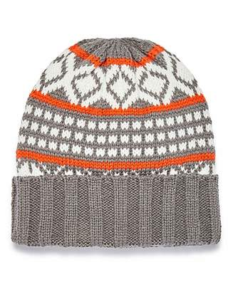 8a89501ceab Mens Orange Beanie - ShopStyle UK