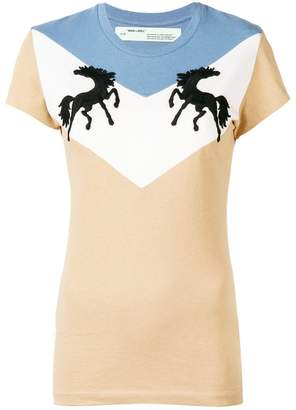 Off-White Twisting Horses T-shirt