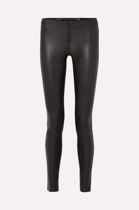 Alice + Olivia Alice Olivia - Leather Leggings - Black