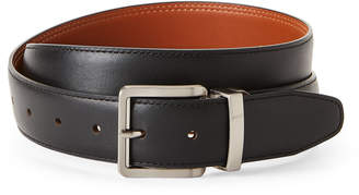 Tommy Bahama Black & Tan Reversible Leather Belt