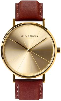 LARSEN & ERIKSEN - Absalon 37mm Gold Gold Brown