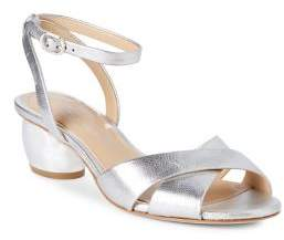 Vince Camuto Imagine Leven2 Metallic Leather Sandals