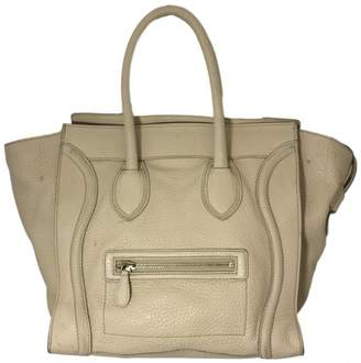 Celine Nano Luggage leather handbag