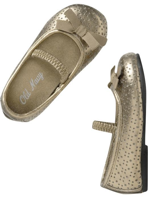 Perforated Ballet Shoes for Baby