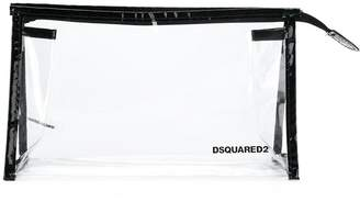 DSQUARED2 logo print pencil case
