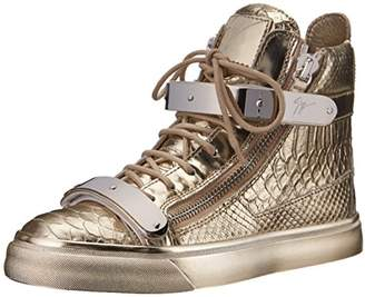 Giuseppe Zanotti Women's Metallic High Top Fashion Sneaker
