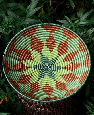 CLOSEOUT! Fair Winds Trading Rwanda Basket, 12