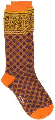 Etro printed ankle socks