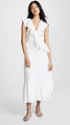 9seed Granada Ruffle Wrap Dress