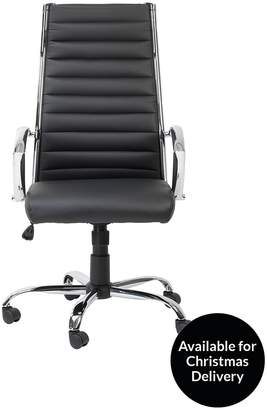 Alphason Hartford Faux Leather Office Chair