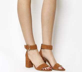 1ed151aa3c2 Tan Block Heel Sandal - ShopStyle UK