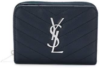 Saint Laurent monogram compact purse