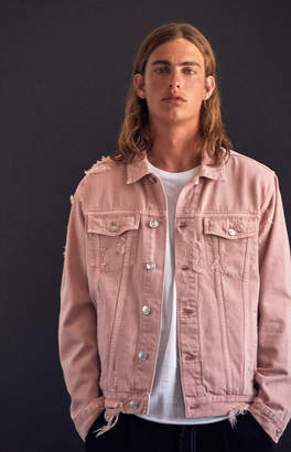 Pacsun Classic Destroy Denim Trucker Jacket