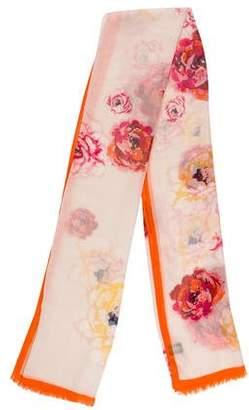Chanel CC Cashmere Silk Stole