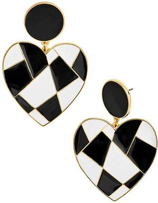 BaubleBar Erissa Heart Drop Earrings