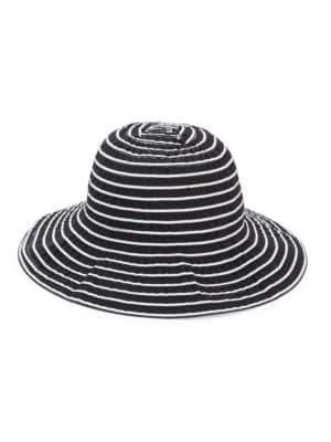 San Diego Hat Company Striped Cloche Hat
