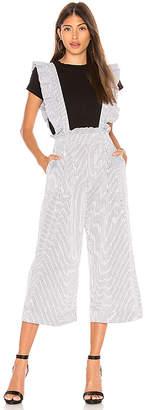 Marled x Olivia Culpo Ruffle Jumpsuit