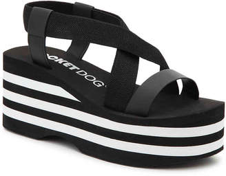 Rocket Dog Lil Smooth Wedge Sandal - Women's