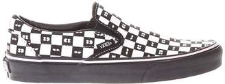 Vans Cotton Lazy Oaf Checker Board Sneakers