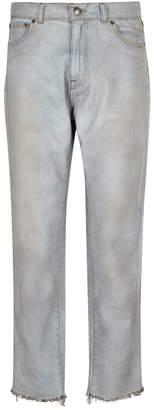Magda Butrym Evansville Brick-washed Straight-leg Jeans