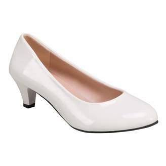14b4087527e Ladies White Leather Pumps - ShopStyle Canada