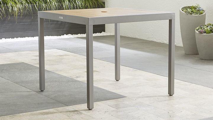 Crate & BarrelAlfresco Natural Café Table